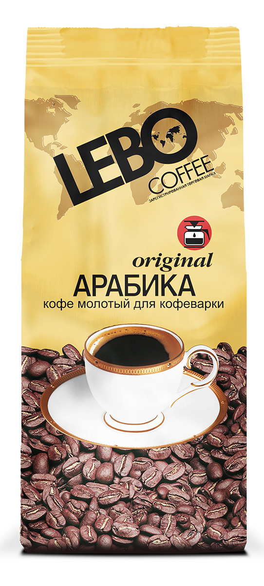 Lebo Original Арабика кофе молотый для кофеварки, 200 г цены