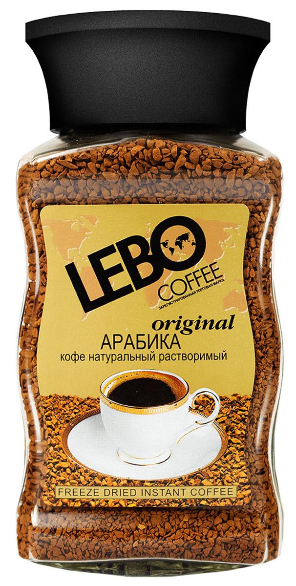 Lebo Original кофе растворимый, 100 г цены