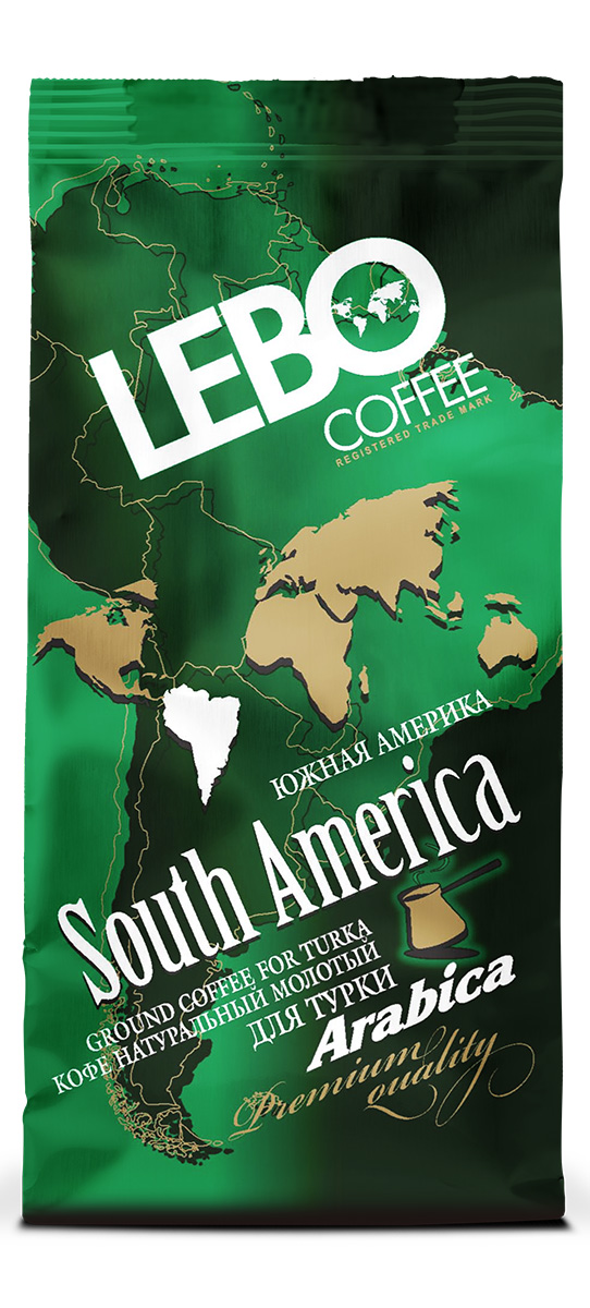 Lebo Южная Америка Арабика кофе молотый, 100 г цены