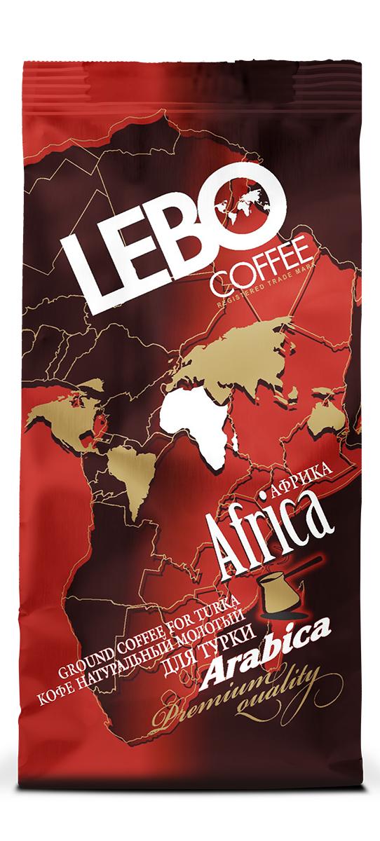Lebo Африка Арабика кофе молотый, 100 г цены