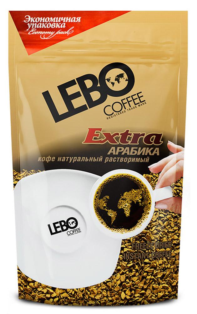 Lebo Extra кофе растворимый, 170 г lebo extra кофе растворимый порционный 25 шт х 2 г