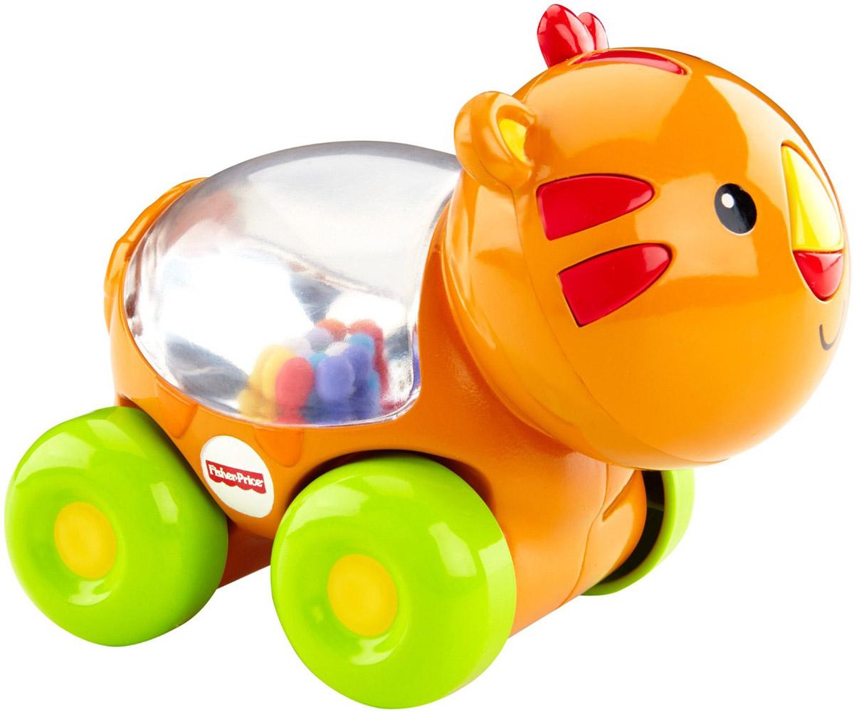 Fisher-Price Развивающая игрушка Тигренок с прыгающими шариками