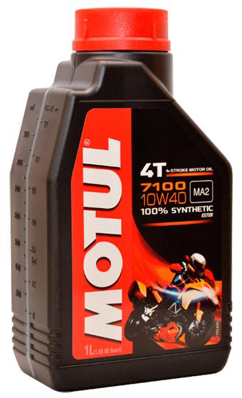 104091  MOTUL 7100 4T 10w-40 масло мот. 1 л 320-489