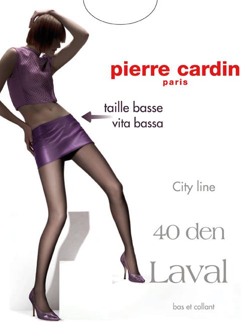 Колготки Pierre Cardin City Line цвет Fumo (темно-серый)