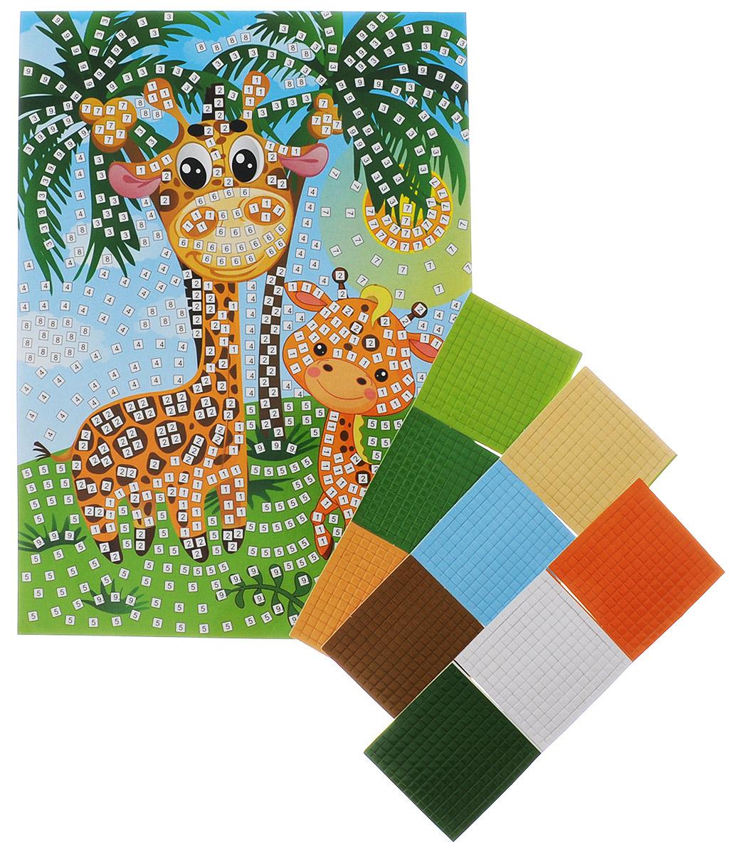 Рыжий Кот Мозаика мягкая Жирафы цена