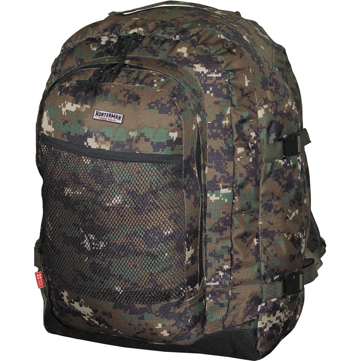 Рюкзак для охоты HunterMan Nova Tour Бекас 55 V3, цвет: темно-зеленый, 55 л