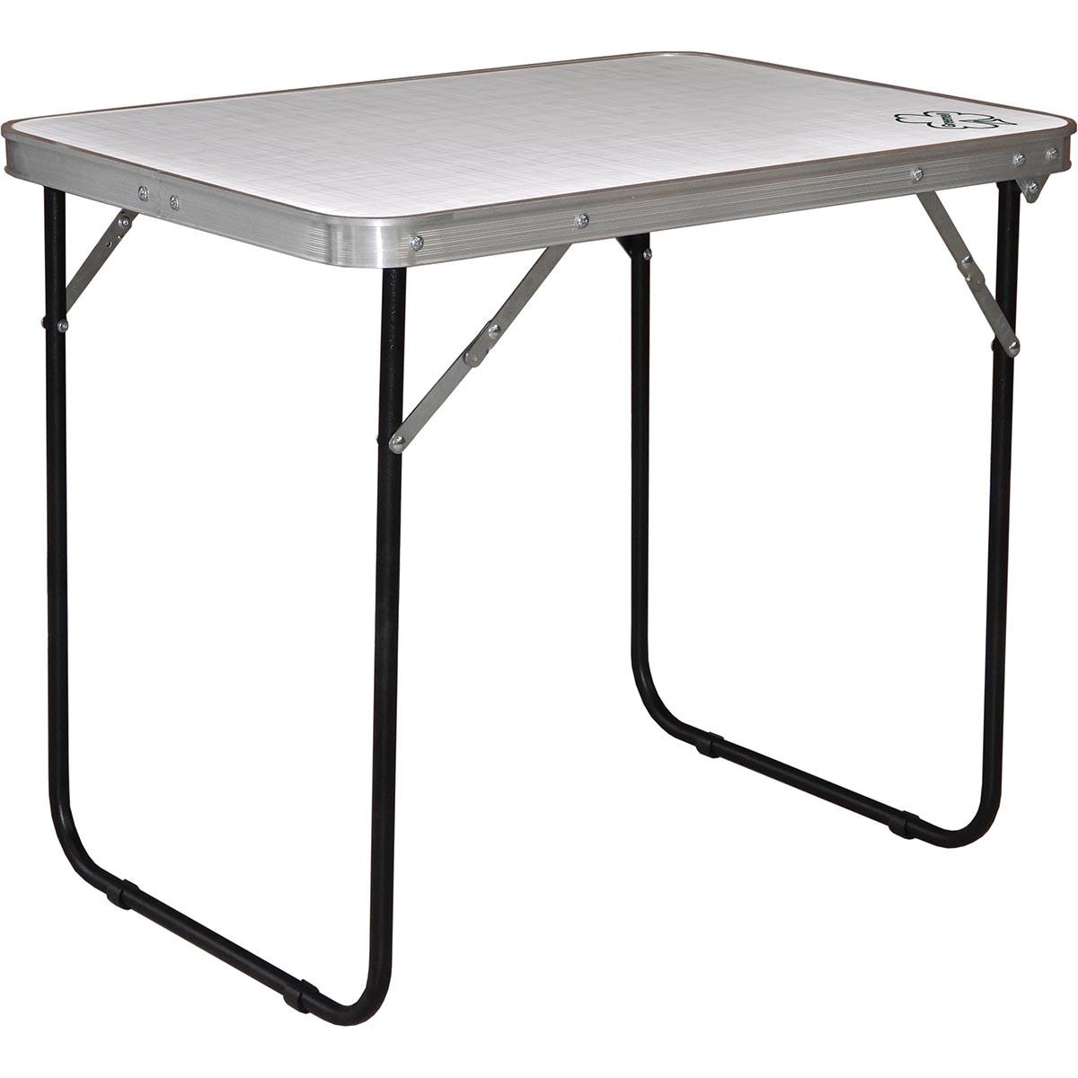 Стол складной Greenell FT-12 R16 WR, цвет: стальной, 50 х 70 х 60 см стол mariott d80 х 74 см