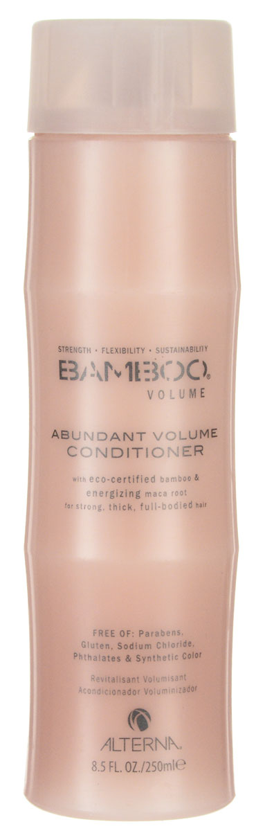 Alterna Кондиционер для объема Bamboo Abundant Volume Conditioner - 250 мл кондиционер alterna blonde brightening conditioner