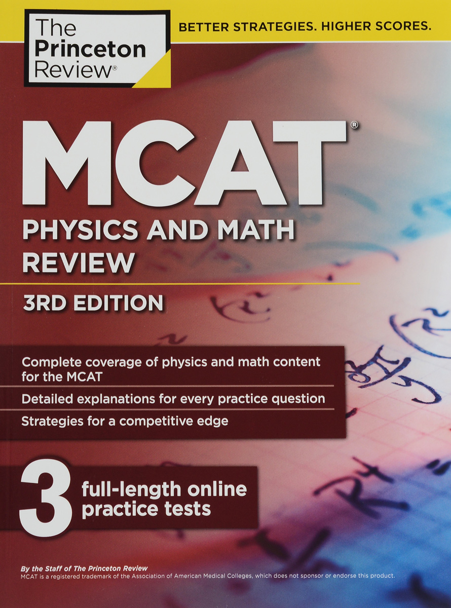 MCAT Physics And Math Review mcat critical analysis and reasoning skills review for mcat 2015