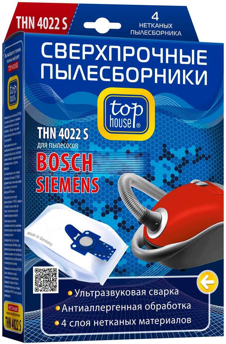 Top House THN 4022 S нетканые пылесборники (4 шт.) top house 64904 thn 102 s