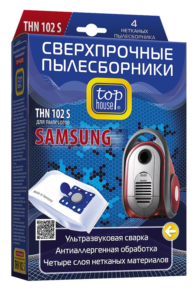 Top House THN 102 S нетканые пылесборники (4 шт.)