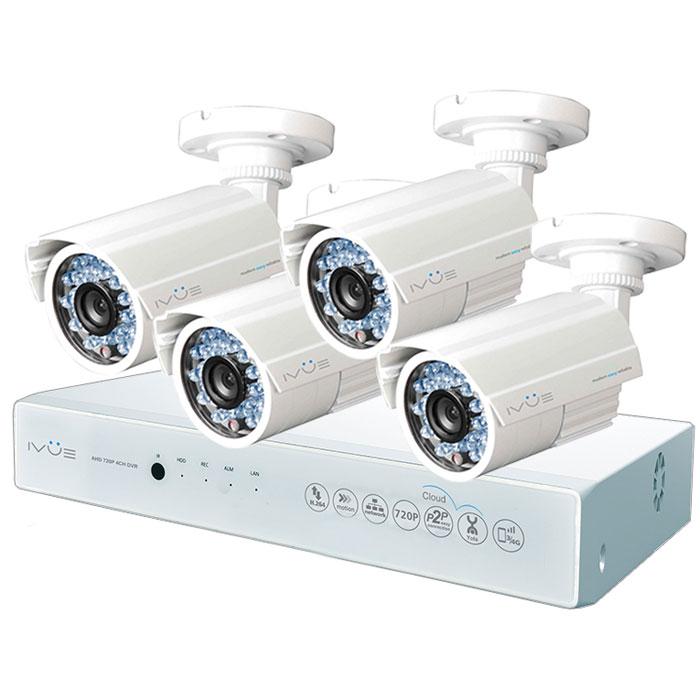 iVue D5004 AHC-B4 Дача 4+4 комплект видеонаблюдения Уцененный товар (№5)