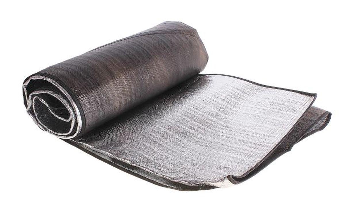 Коврик туристический Onlitop, с алюминиевым покрытием, 200 х 200 см цена