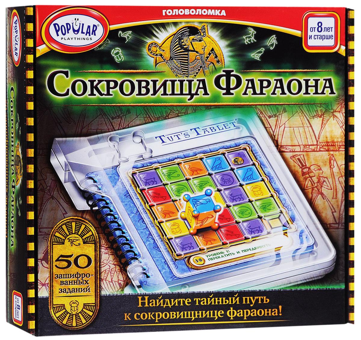 Popular Playthings Настольная игра Сокровища Фараона
