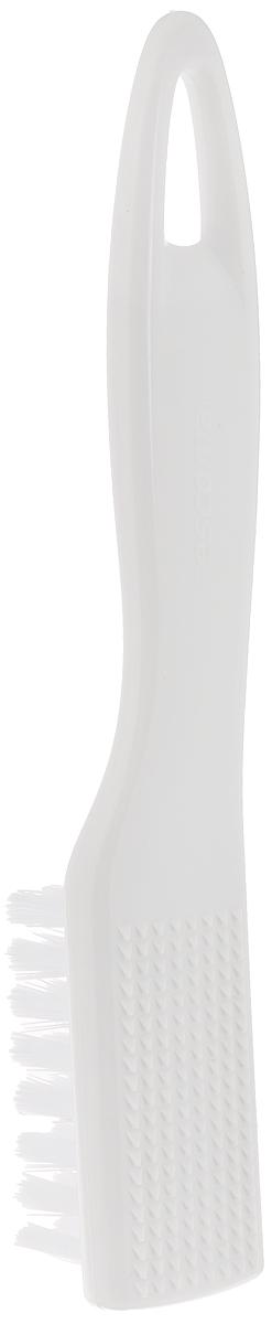 Щетка для чистки овощей Tescoma Presto, цвет: белый, длина 18 см лопатка сцеживающая tescoma presto цвет белый длина 34 см
