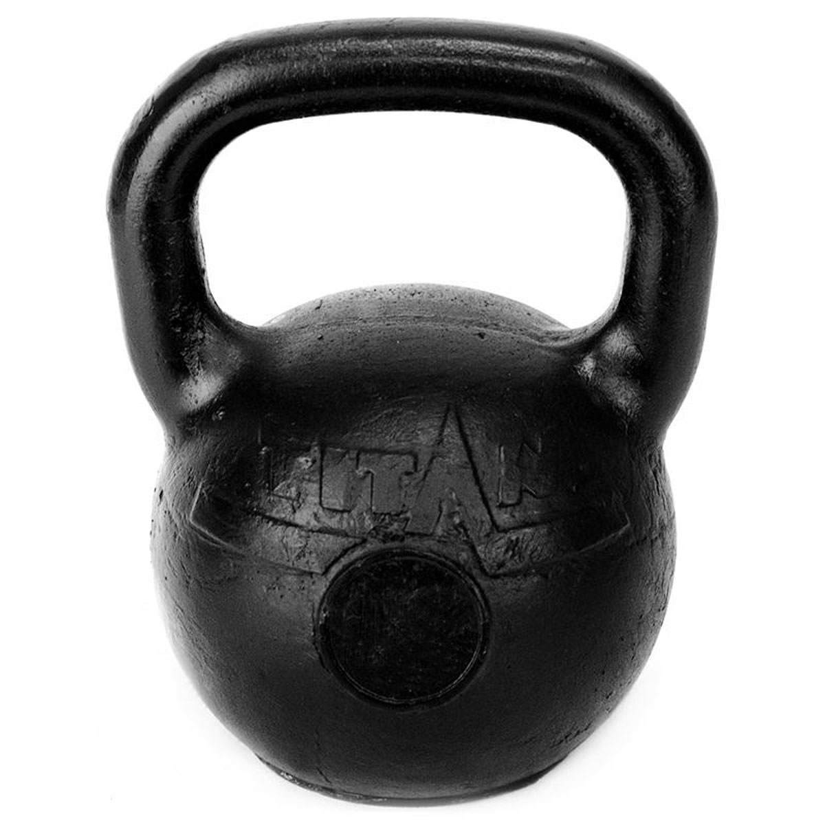 Гиря чугунная Titan, 16 кг гиря titan 8 кг