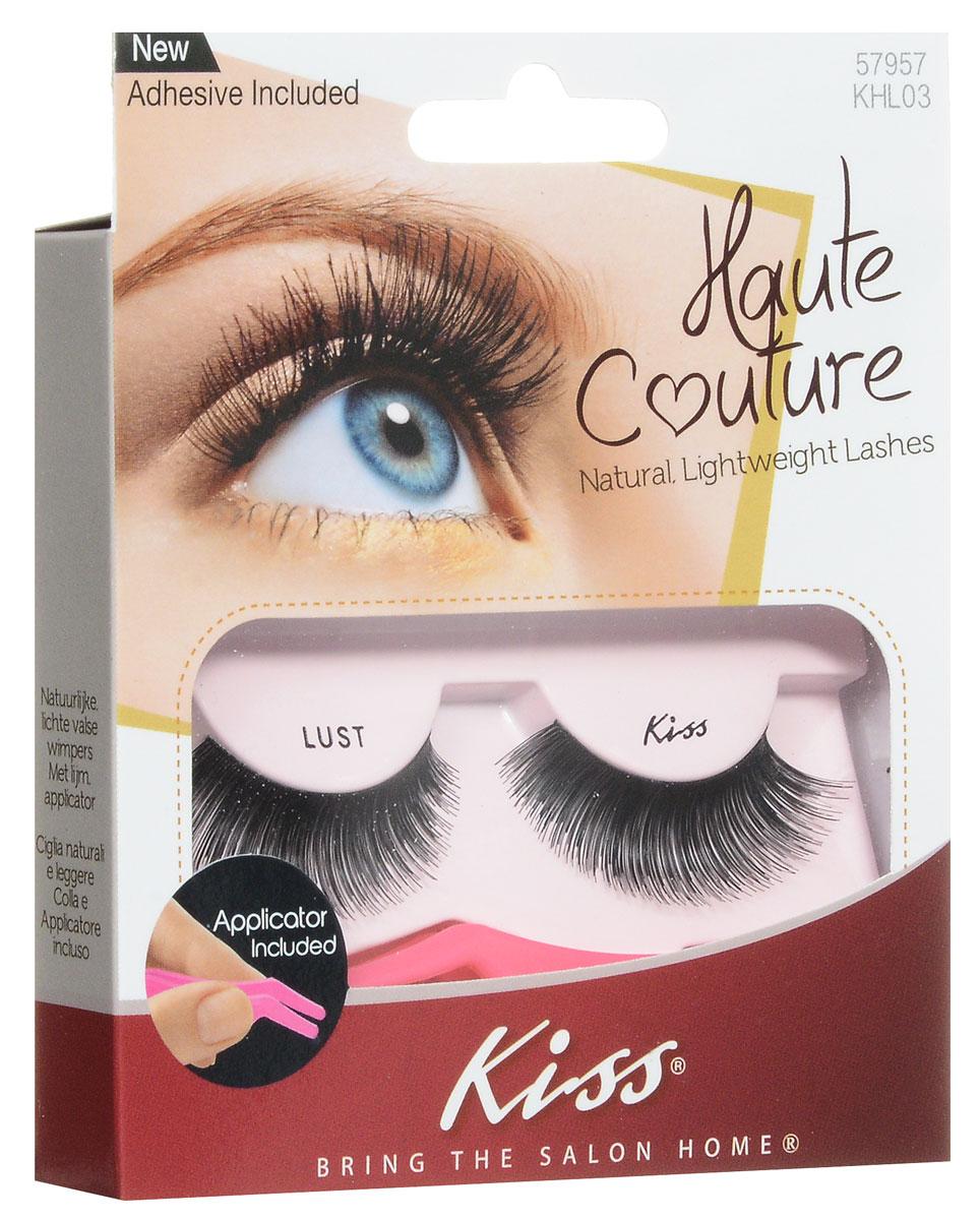 Kiss Haute Couture Накладные ресницы Single Lashes Lust KHL03GT