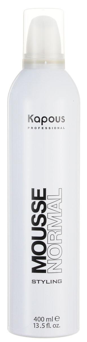 Kapous Professional Мусс для укладки волос нормальной фиксации 400 мл
