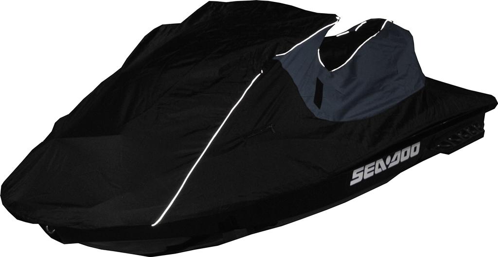Чехол AG-brand, для гидроцикла BRP GTI SE 155, цвет: черный, синий
