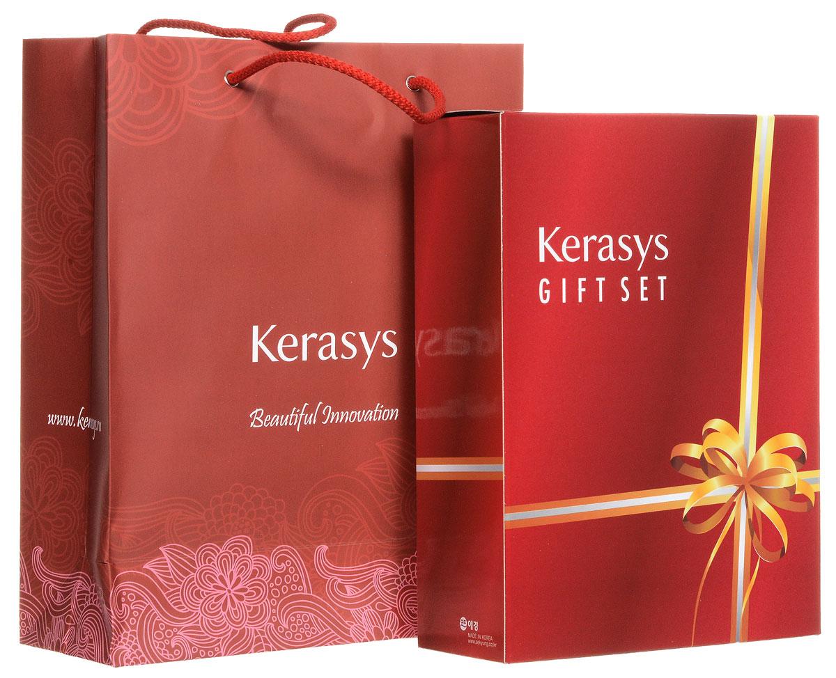 KeraSys Подарочный набор для волос Oriental Premium: шампунь, кондиционер, мыло, 2 шт
