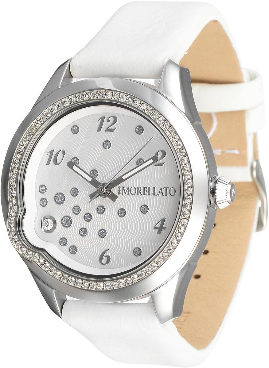 Часы женские наручные Morellato, цвет: белый, серебристый. R0151111501 все цены
