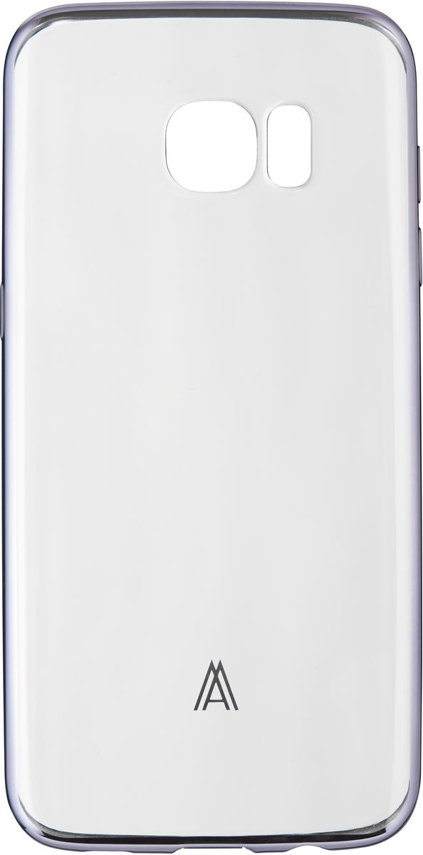 Anymode Luxe Soft Skin чехол для Samsung Galaxy S7, Silver бампер anymode для samsung galaxy s6 голубой