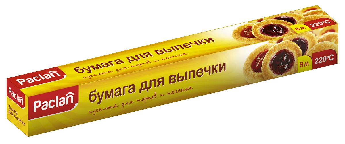 Бумага для выпечки Paclan, 8 м х 38 см Уцененный товар (№49)