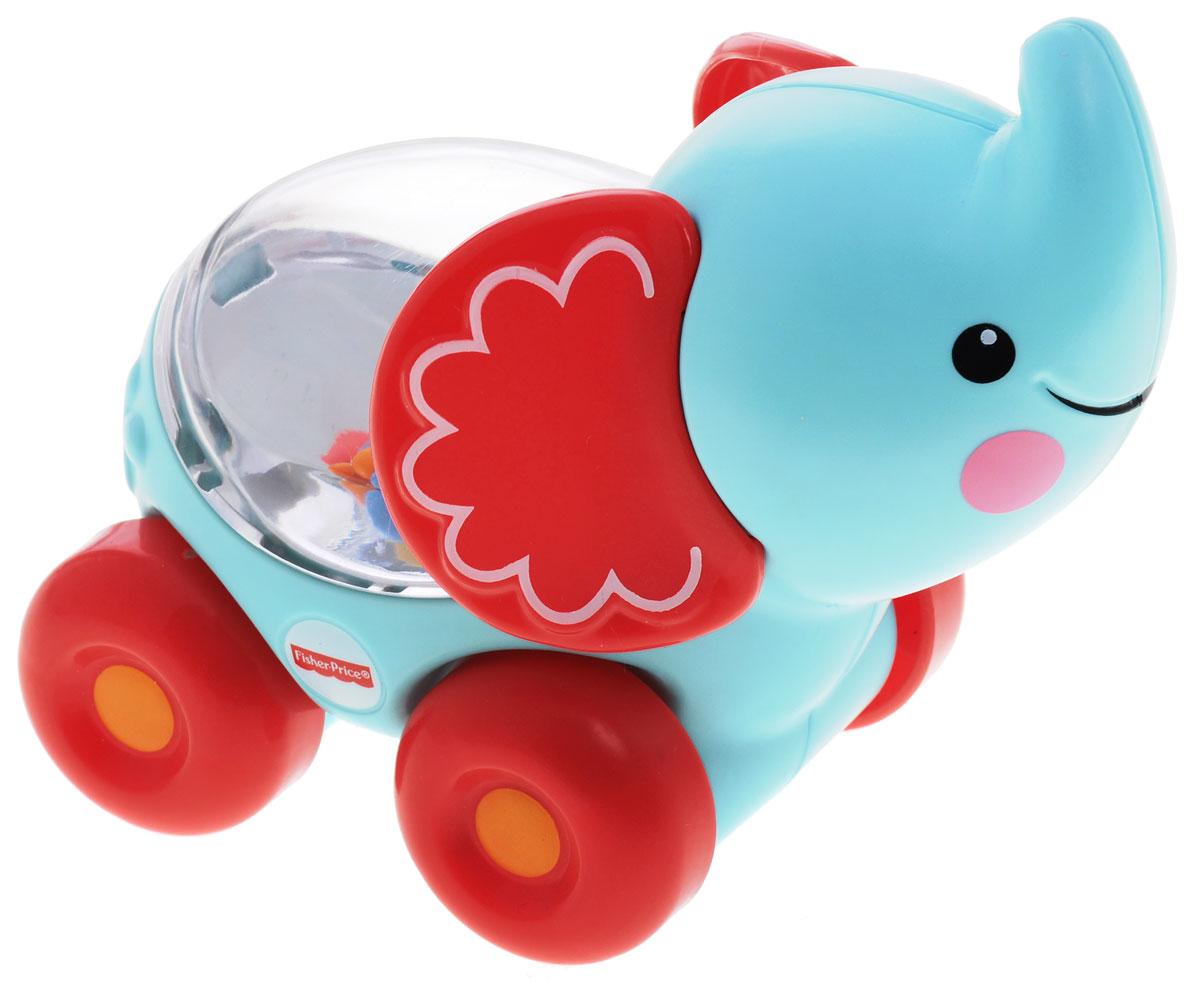 Fisher-Price Развивающая игрушка Слоник с прыгающими шариками