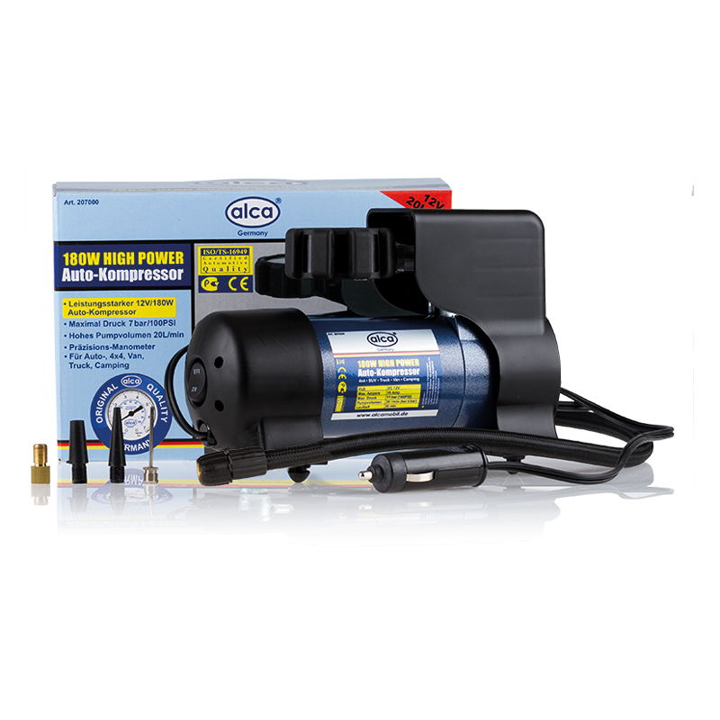 Автомобильный компрессор Alca High Power, 12 В , 180 Вт. 207000 компрессор автомобильный ставр ка 12 7 12 в