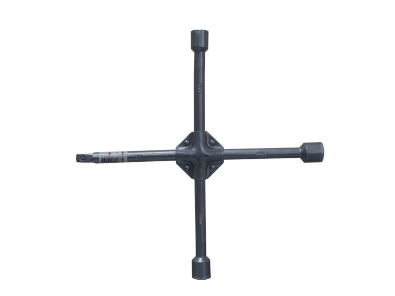 Ключ балонный крестовой Skybear, усиленный, 17 х 19 х 21 х 1/2 мм ключ крест баллонный 17 х 19 х 21 х 22 мм усиленный толщина 16 мм matrix professional