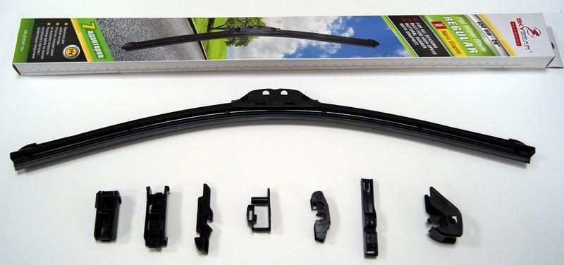 Щетка стеклоочистителя Skybear Regular, бескаркасная, 65 см, 1 шт щетка стеклоочистителя zipower бескаркасная 55 см 1 шт