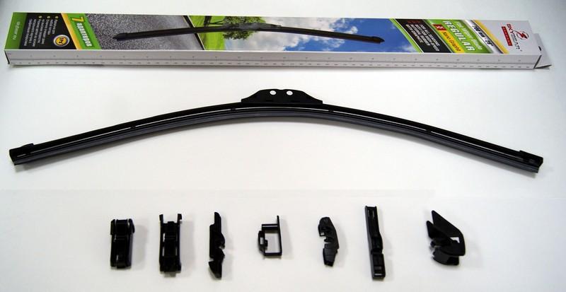 Щетка стеклоочистителя Skybear Regular, бескаркасная, 70 см, 1 шт щетка стеклоочистителя zipower бескаркасная 55 см 1 шт