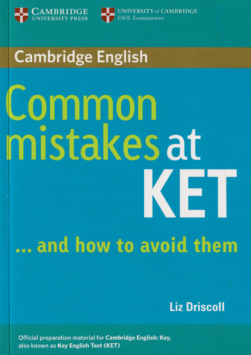 Common Mistakes at KET ... and how to avoid them, Paperback j moore thomas last chance to get it right how to avoid eight deadly mistakes made with money