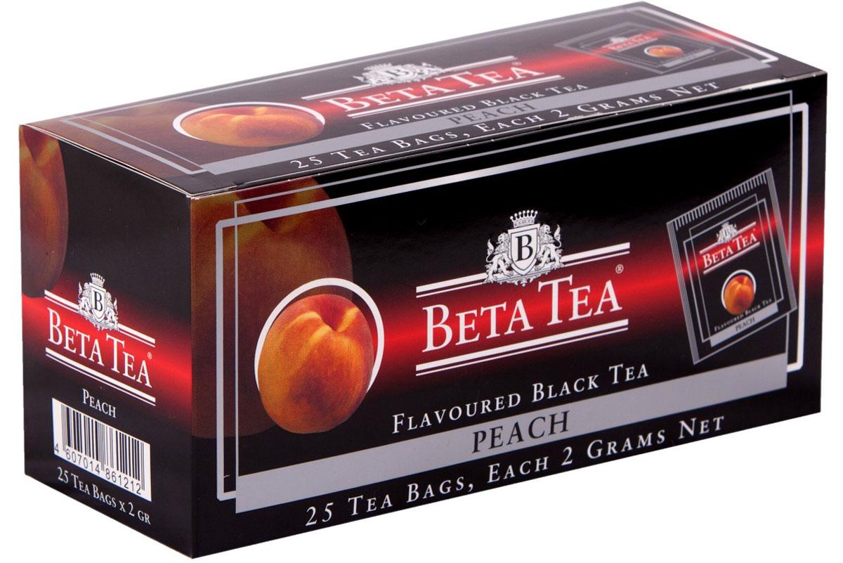 Бета Чай Персик 25х2 г. чай rioba черный солнечный персик