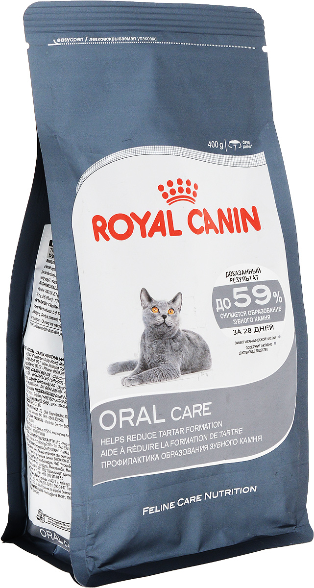 Корм сухой Royal Canin Oral Care, для взрослых кошек, 400 г waterpulse professional oral care teeth cleaner irrigator electric oral irrigator dental flosser