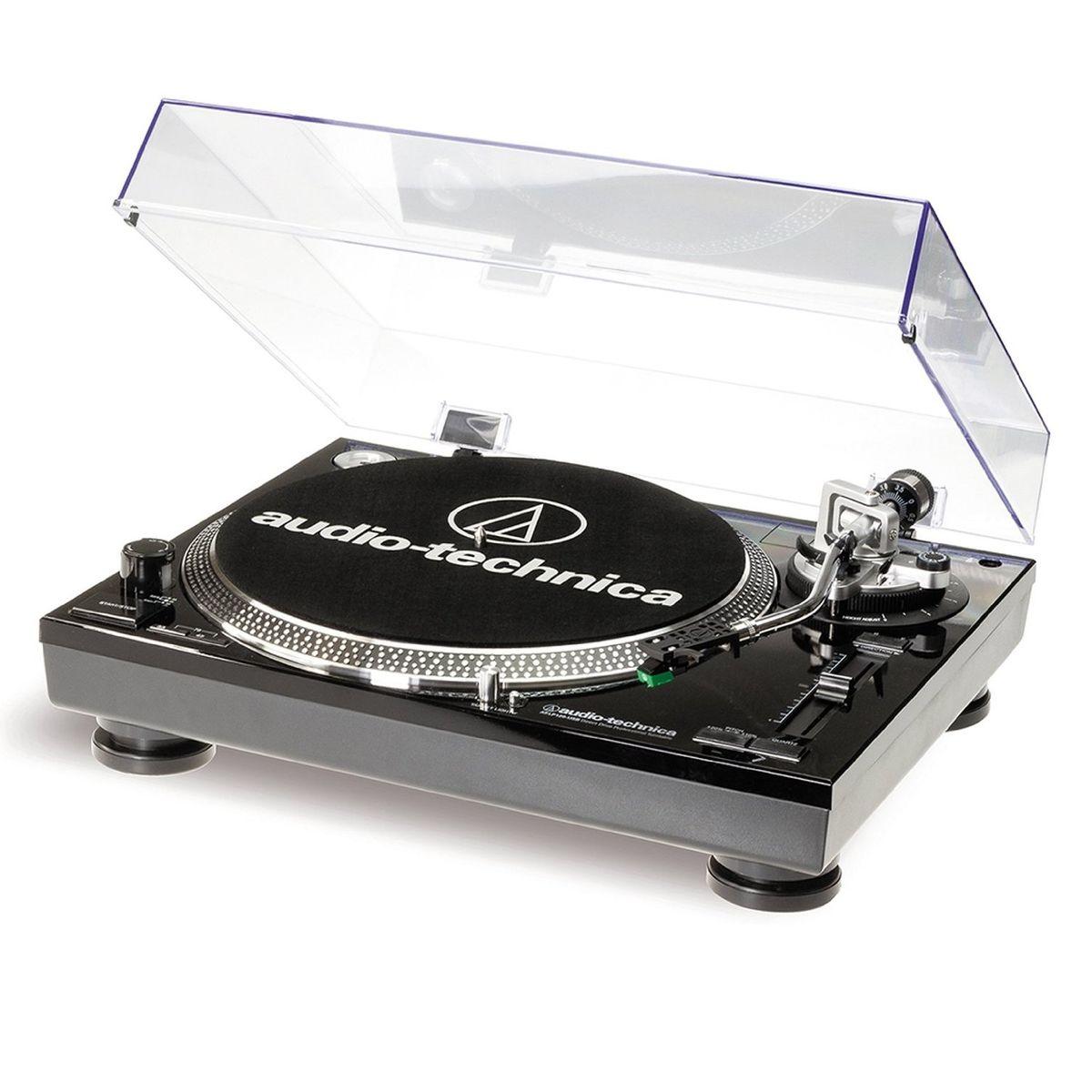 Audio-Technica AT-LP120-USBHC, Blackпроигрыватель виниловых дисков Audio-Technica