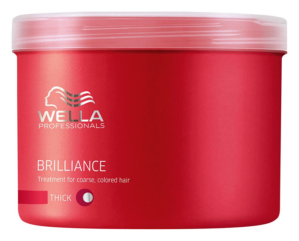 Wella Brilliance Line Маска для окрашенных жестких волос 500 мл цена в Москве и Питере