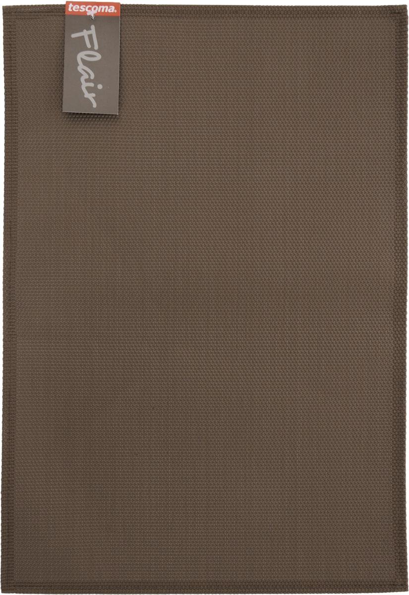 Салфетка сервировочная Tescoma Flair, цвет: коричневый, 45 х 32 см sans tabù салфетка под приборы