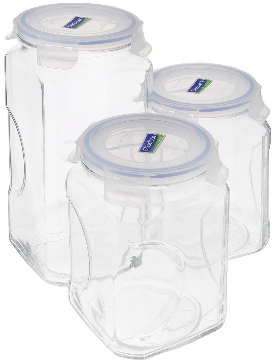 Банка для сыпучих продуктов IG-534, прозрачный набор контейнеров с гибким дном для замораживания питания в наборе 4 контейнера под
