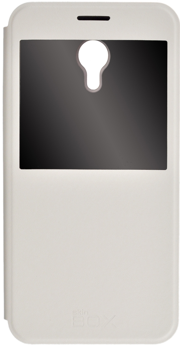 Skinbox Lux AW чехол для Meizu M2 Note, White аксессуар чехол meizu m2 note cojess ultra slim экокожа флотер silver