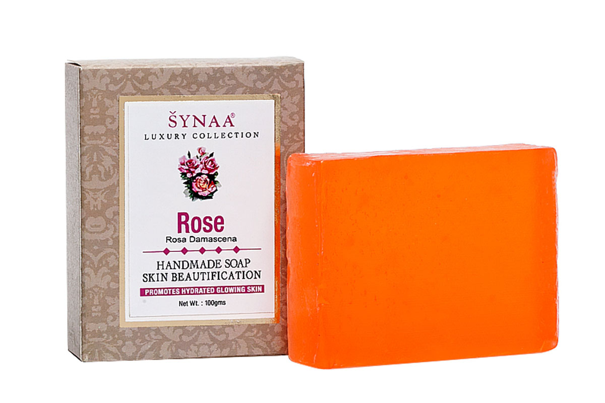 Synaa мыло ручной работы Роза, 100 г