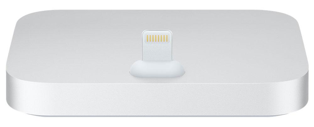 Apple iPhone Lightning Dock, Silver док-станция