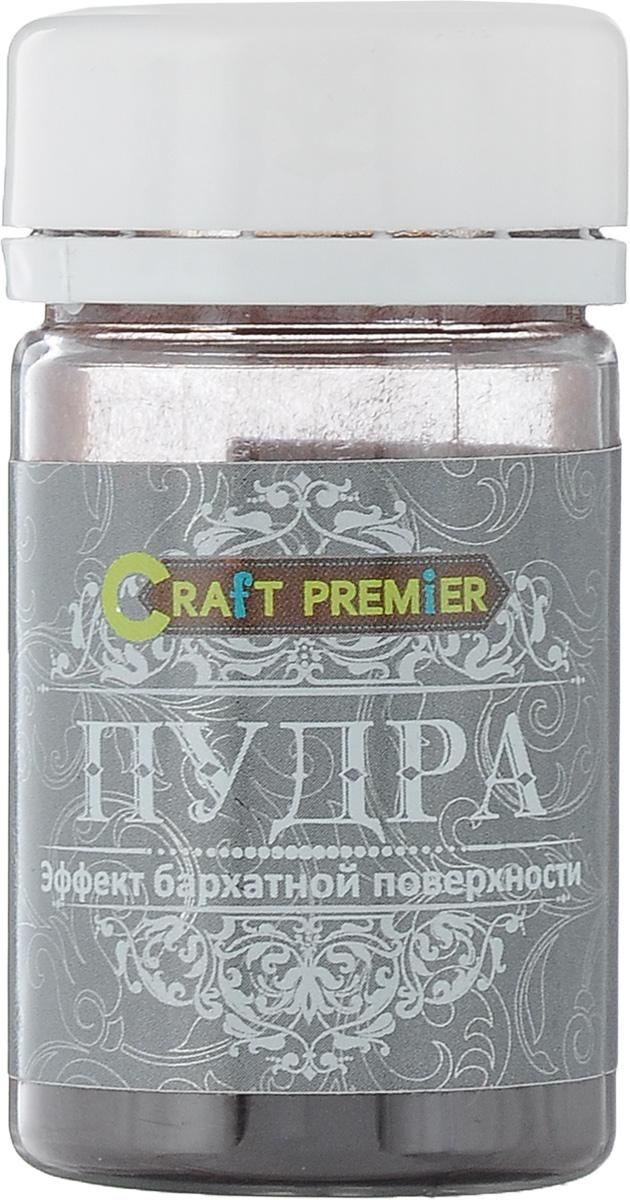Пудра Craft Premier Эффект бархатной поверхности, цвет: темно-коричневый, 50 мл цена