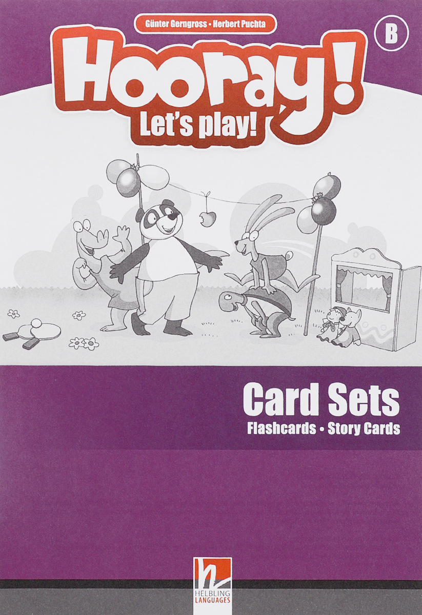цены на Hooray! Let's Play! - B Card-Sets (Flashcards+Story Cards)  в интернет-магазинах