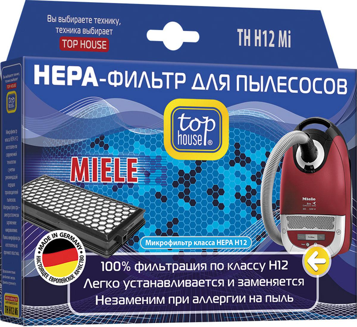 Top House 12870 TH H12 Mi HEPA-фильтр для пылесосов Miele
