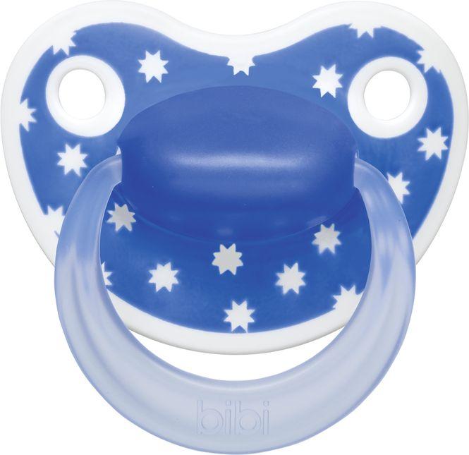 Bibi Пустышка Premium Dental Happiness Lovely Dots силиконовая 6-16 месяцев