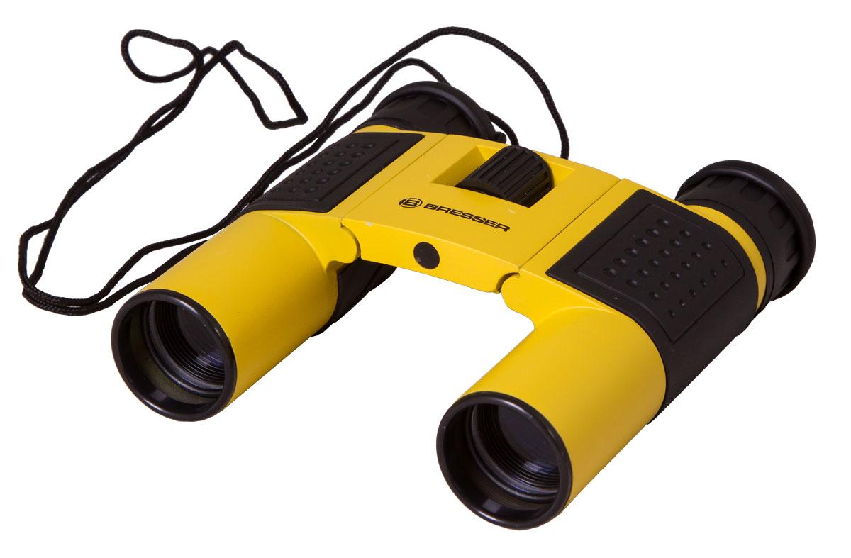 Bresser Topas 10x25, Yellow бинокль бинокль bresser topas 10x25 черный