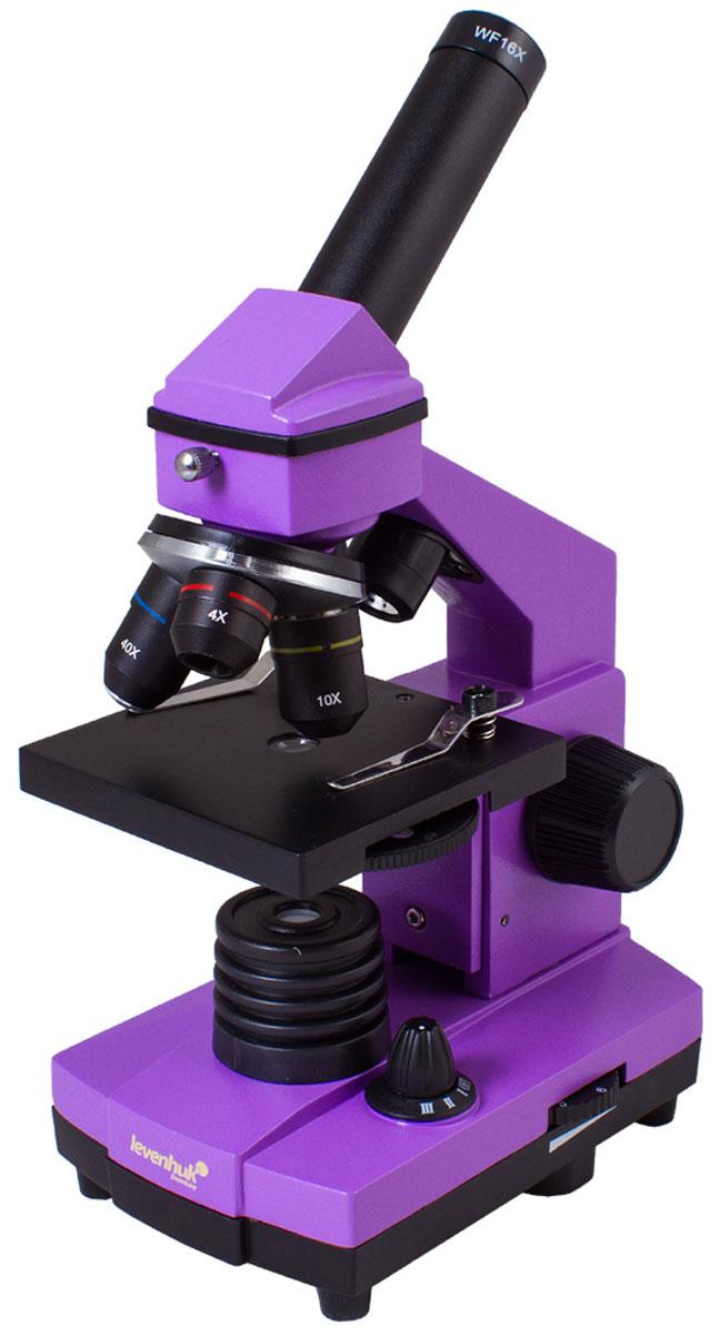 Levenhuk Rainbow 2L Plus, Amethyst микроскоп
