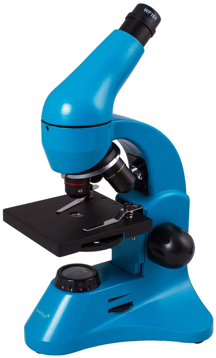 Levenhuk Rainbow 50L Plus, Azure микроскоп