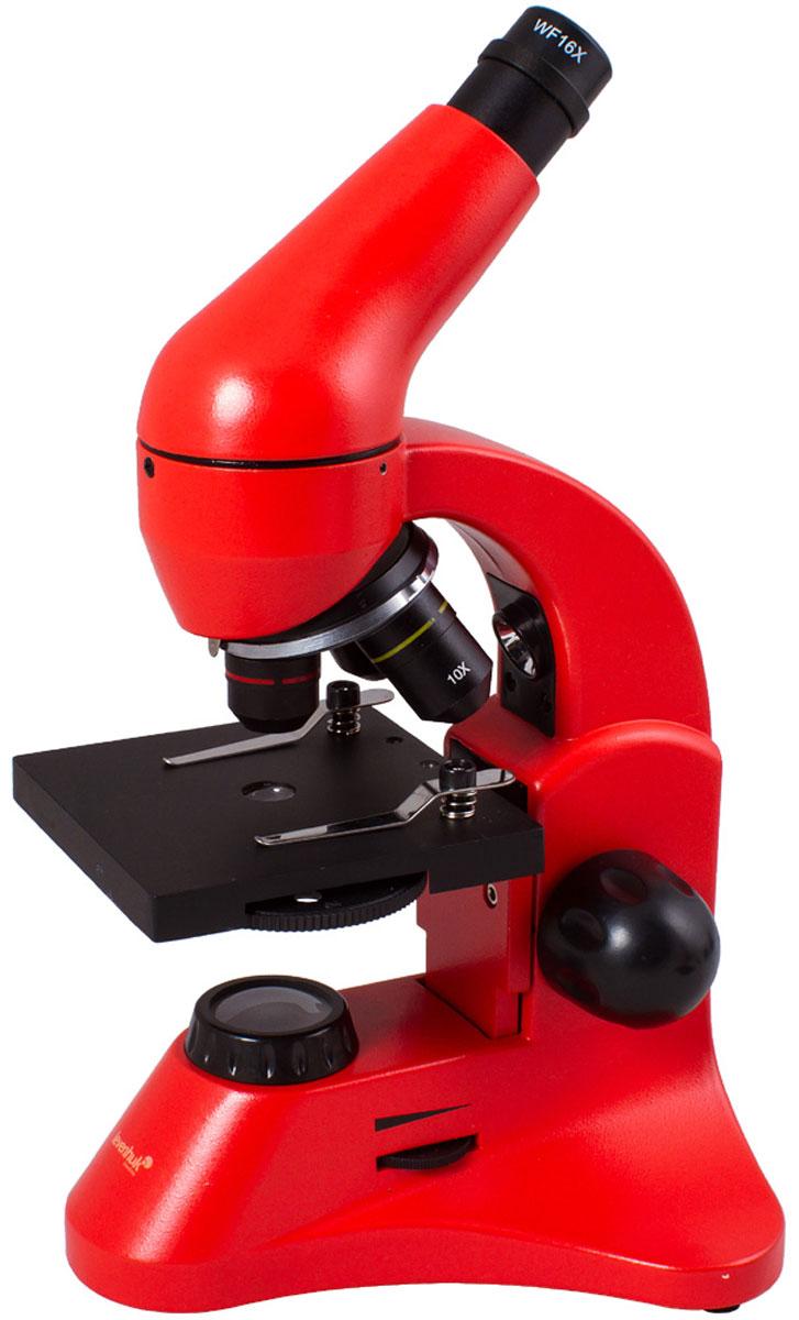 Levenhuk Rainbow 50L Plus, Orange микроскоп